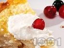 Рецепта Пухкава сладка баница с ориз и сушени плодове - кайсии, стафиди